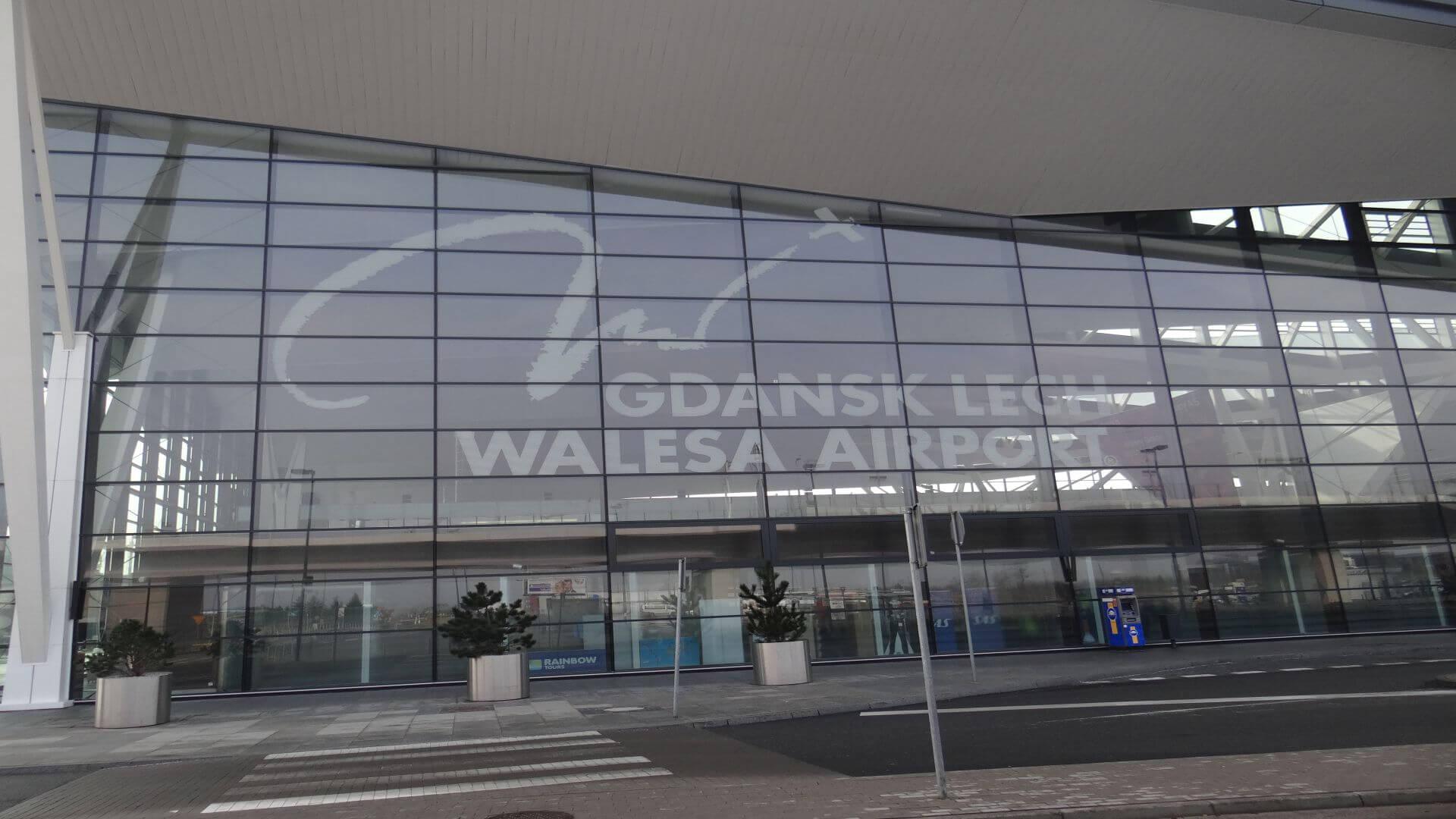 The new terminal of Gdańsk Lech Wałęsa airport, Terminal 2.
