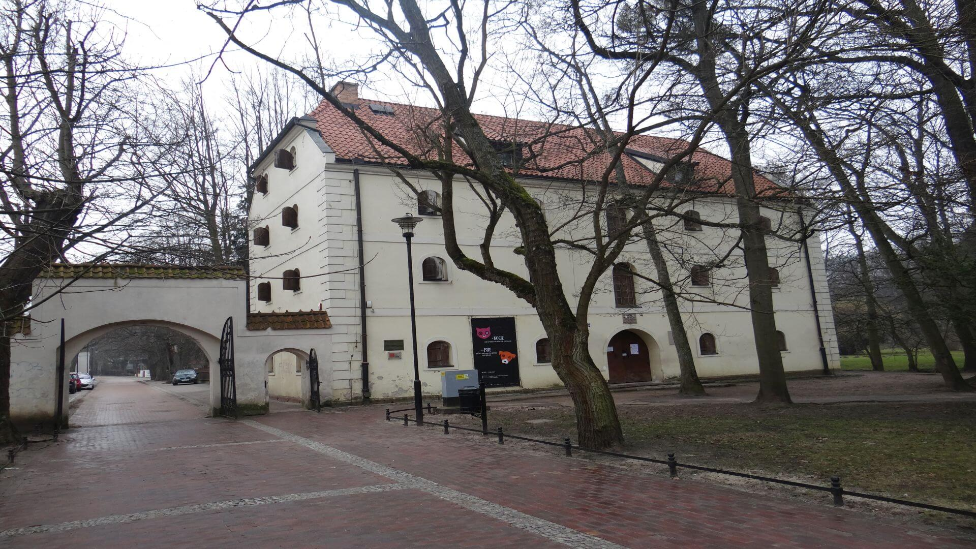 Abbot's Granary hosting the Department of Ethnography of the museum of Gdańsk.
