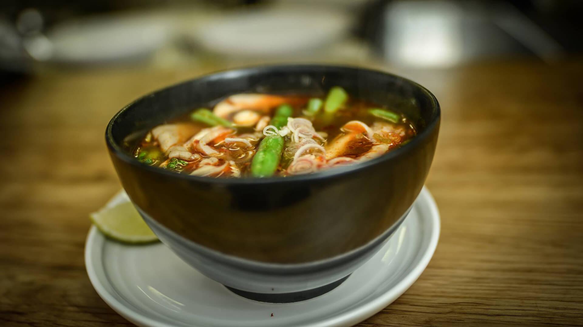 Ryz, Oriental cuisine