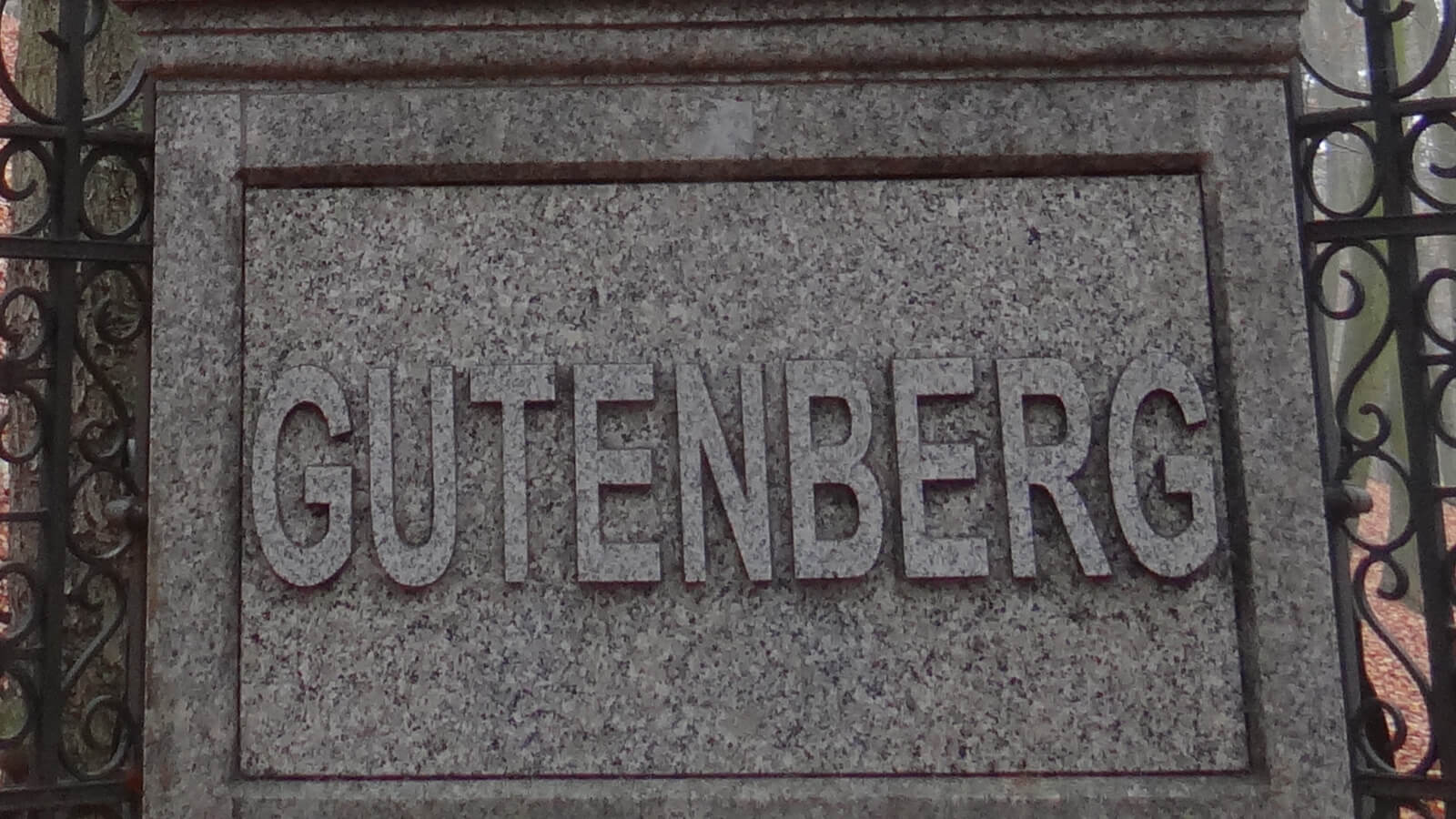 Gutenberg's name will always be linked to the printing press.